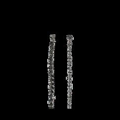 Cintura metallica canna di fucile con cristalli , Abbigliamento, 144010325MTCANNUNI, 001a