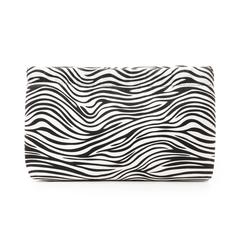 Borsa piccola zebrata in microfibra, Borse, 133322232MFZEBRUNI, 003 preview