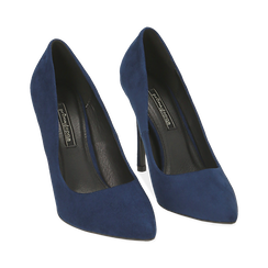 ZAPATOS SALON MICROFIBRA BLUE, Primadonna, 162146861MFBLUE035, 002 preview