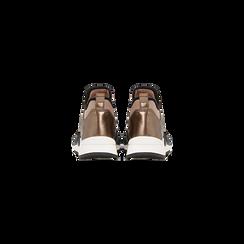 Sneakers rosa nude in lycra con fascia elastica, Primadonna, 121617843LYNUDE, 003 preview