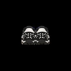 Sneakers nere color block, Primadonna, 122618834MFNERO, 003 preview