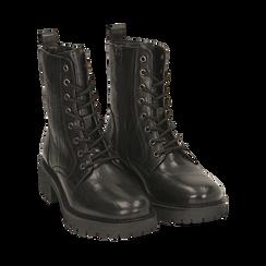 Amphibiens noirs en cuir, Primadonna, 169404101PENERO037, 002 preview