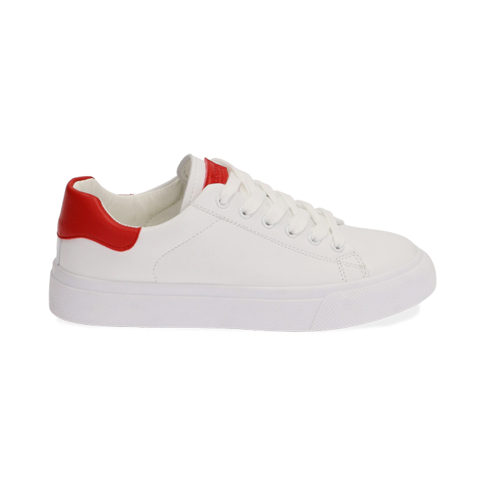 Sneakers blanco/rojo