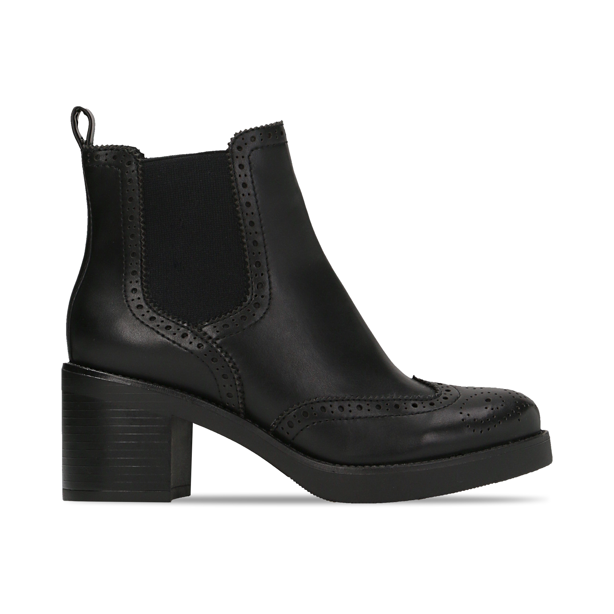 Chelsea Boots neri, tacco 3 cm