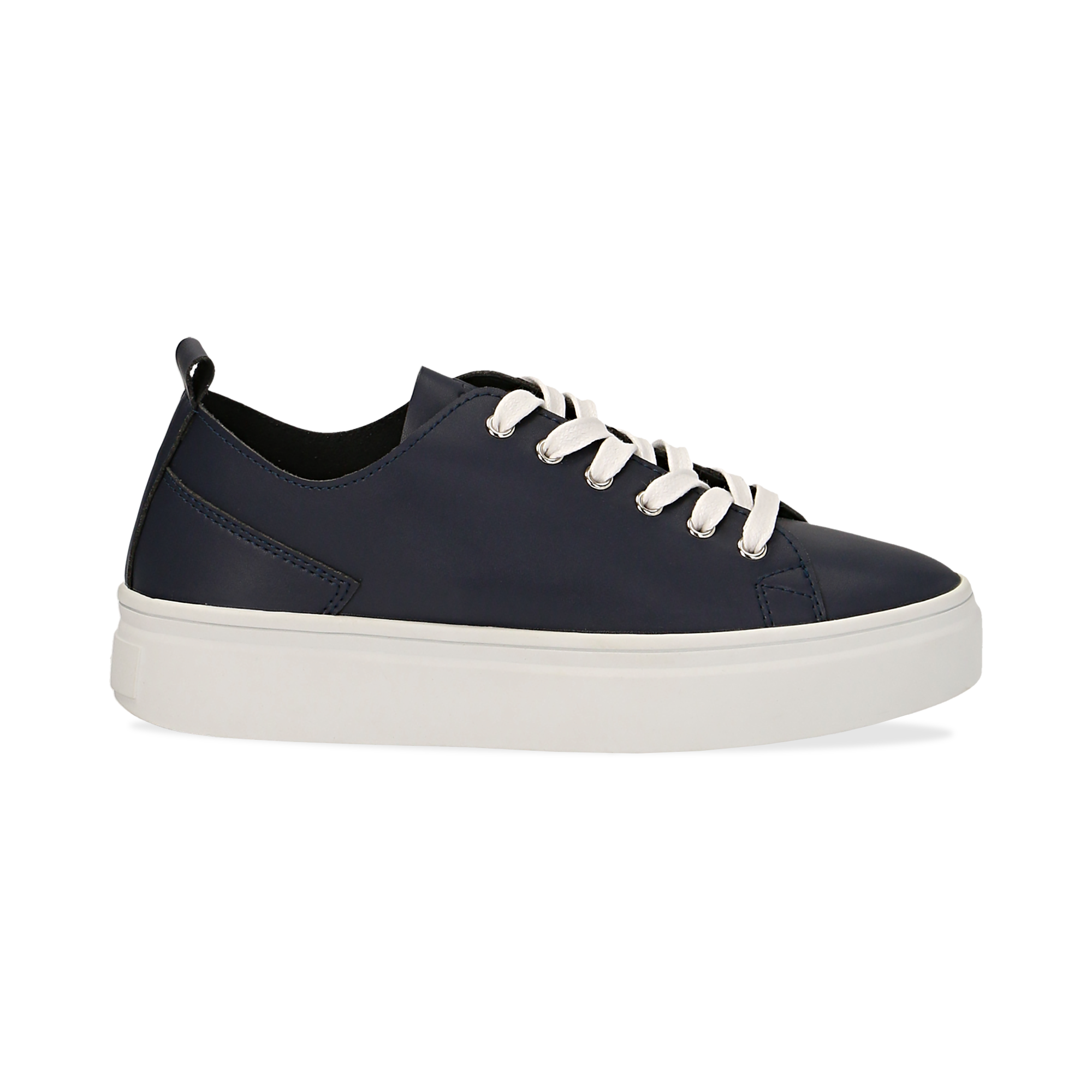 Sneakers de eco-piel color azul marino