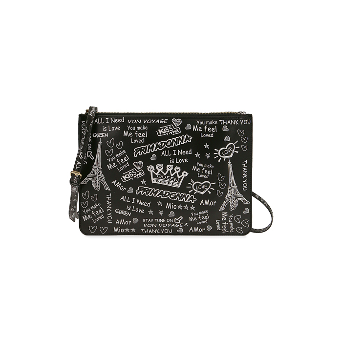Pochette nera cartoon