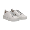 Sneakers bianche in eco-pelle