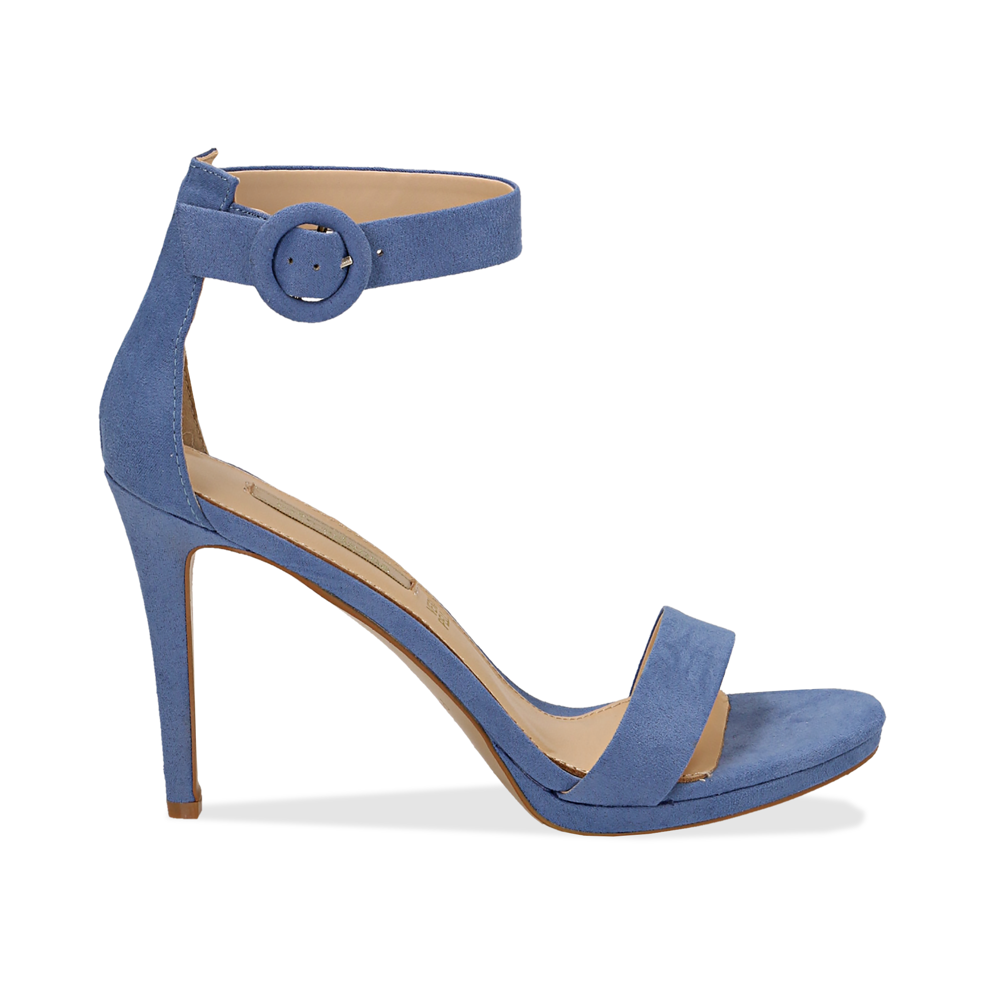 1ec50f70e5cf 17 Sandali azzurri in microfibra