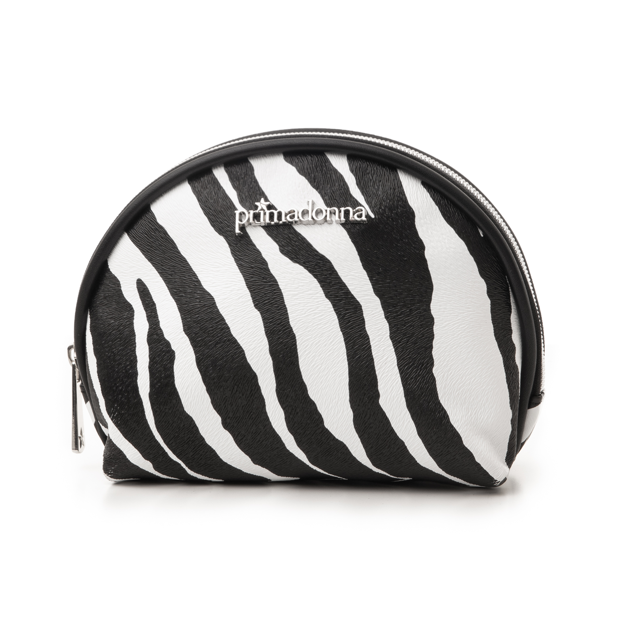 Trousse zebra print in eco-pelle