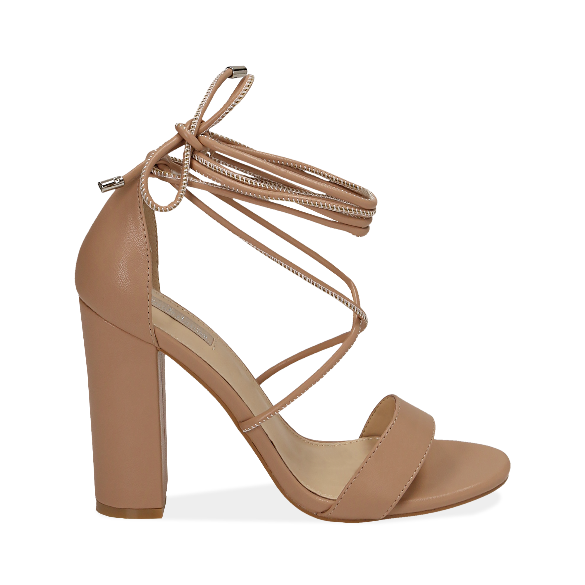 WOMEN SHOES SANDAL ECO-LEATHER NUDE