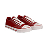 Sneakers rosse in canvas