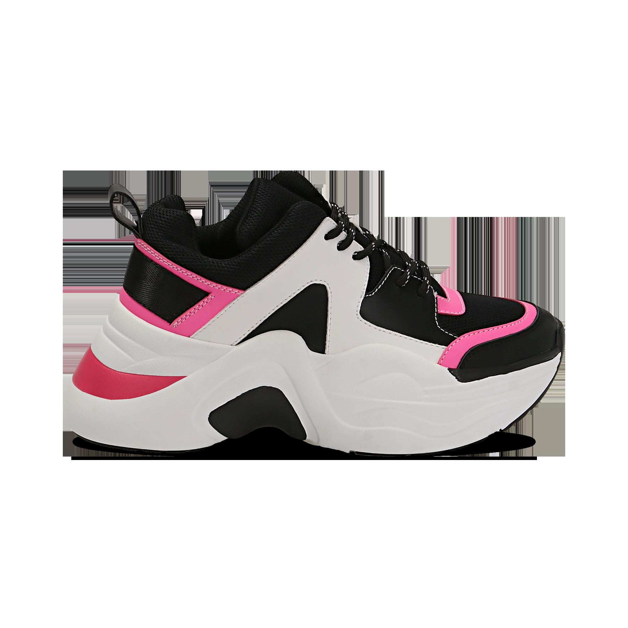 scarpe da ginnastica nere con brillantini
