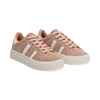 Sneakers rosa in microfibra stile vintage Seventies