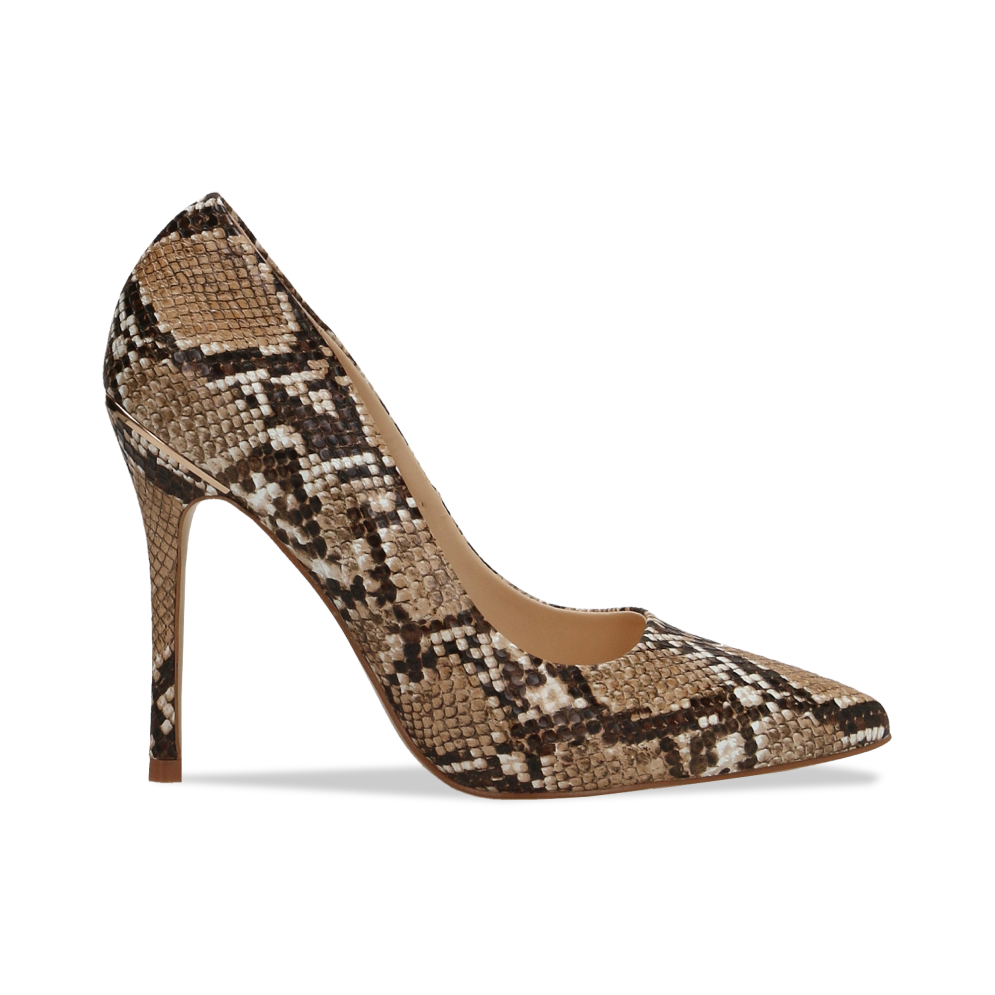 1 Décolleté Snake Print in ecopelle db5228b8725