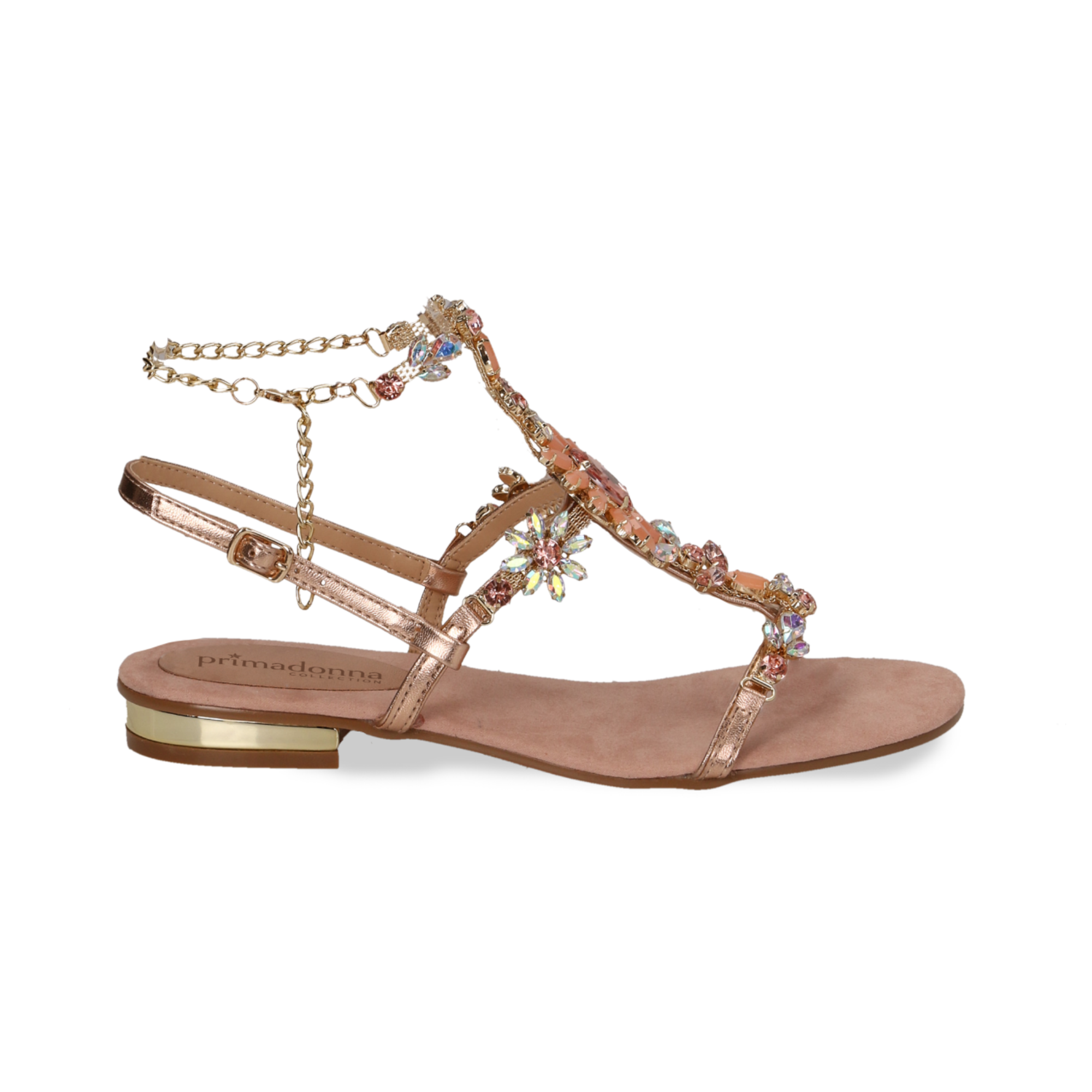 Flat Tl1j3cfk Nude Donnaprimadonna Collection Sandali Gioiello xsrdCthQB