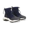 Sneakers blu dad shoes a calza in lycra