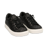 Zapatillas glitter color negro