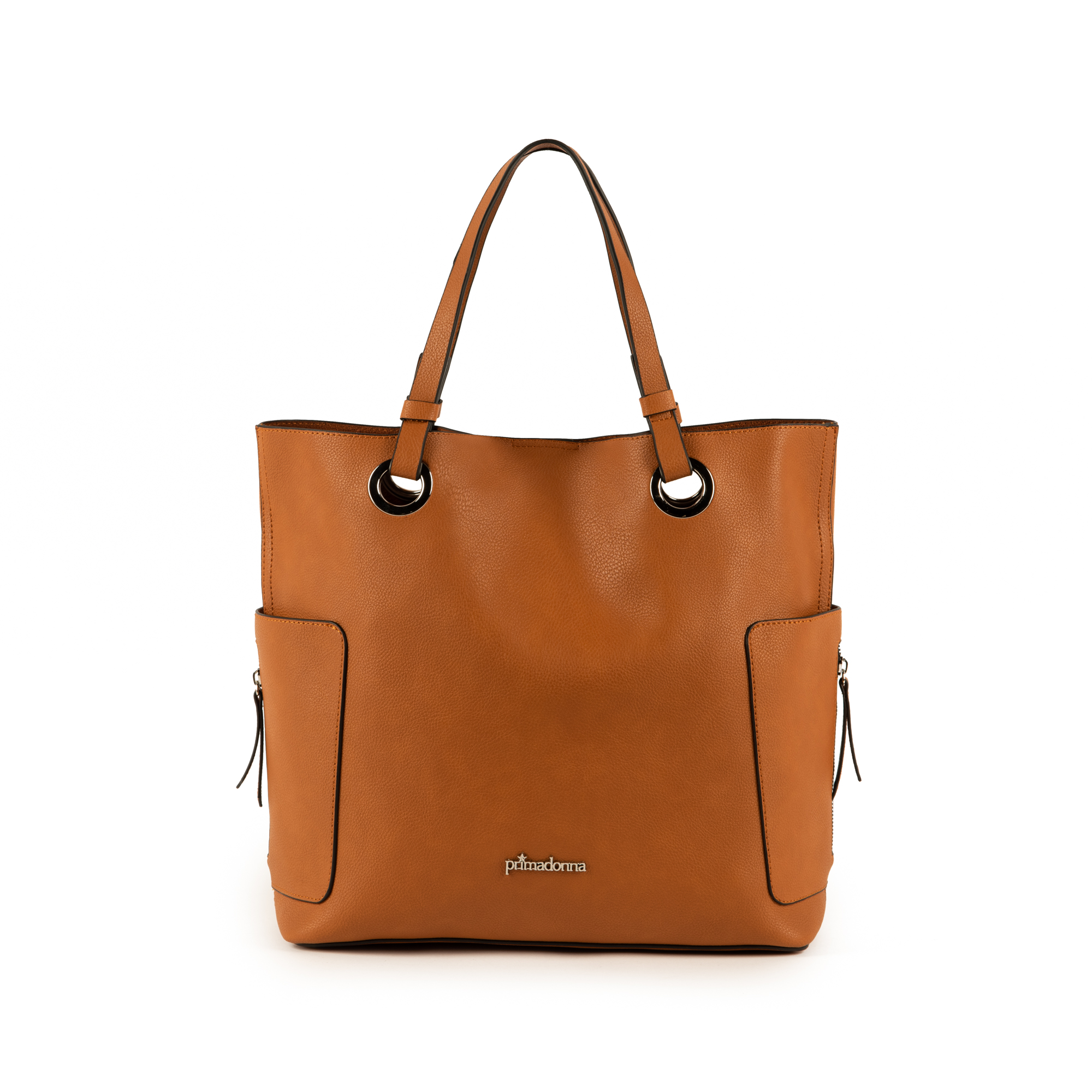 Maxi-bag color cuero