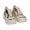Dad shoes bianco/oro