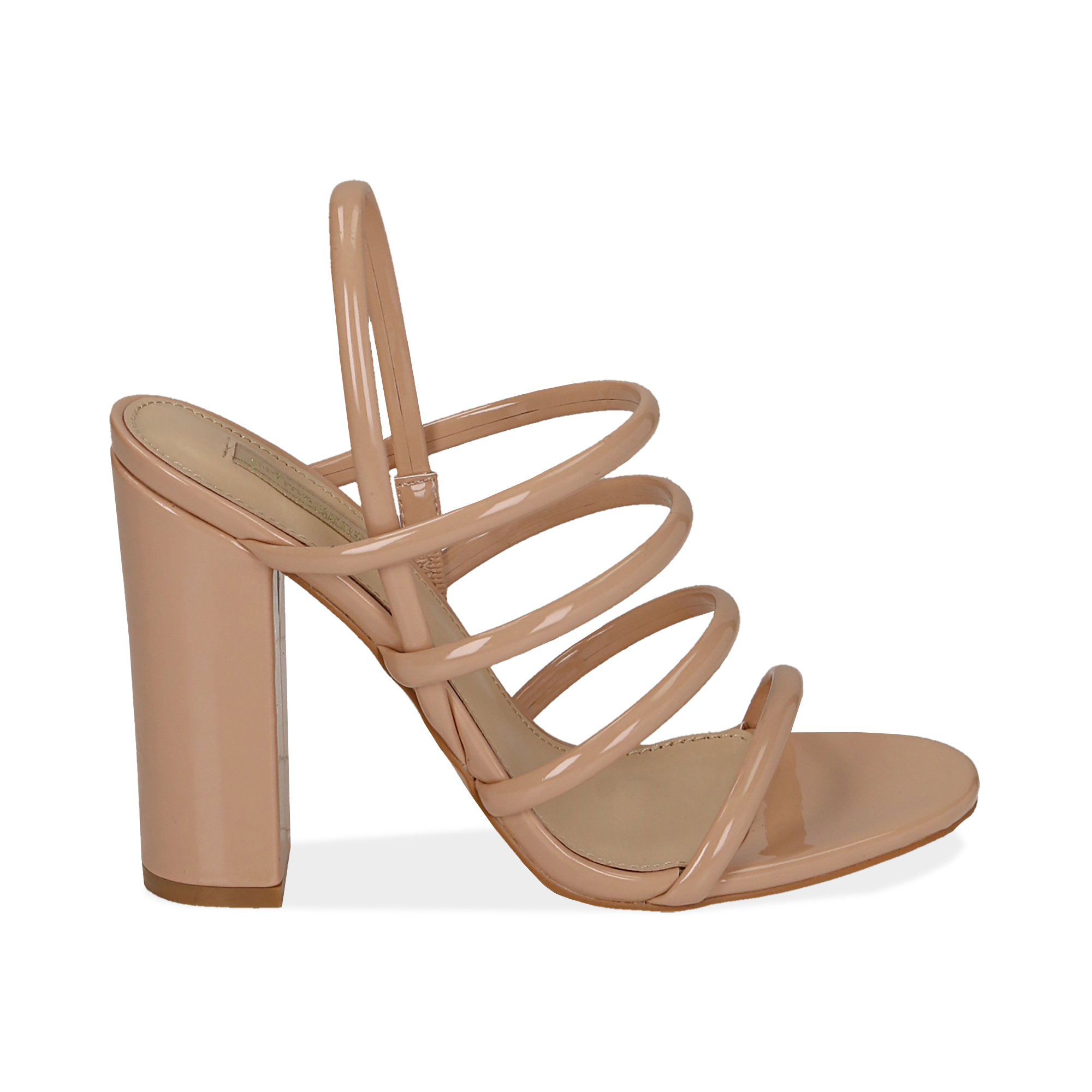 WOMEN SHOES SANDAL EP-PATENT NUDE
