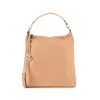 Maxi-bag nude in microfibra