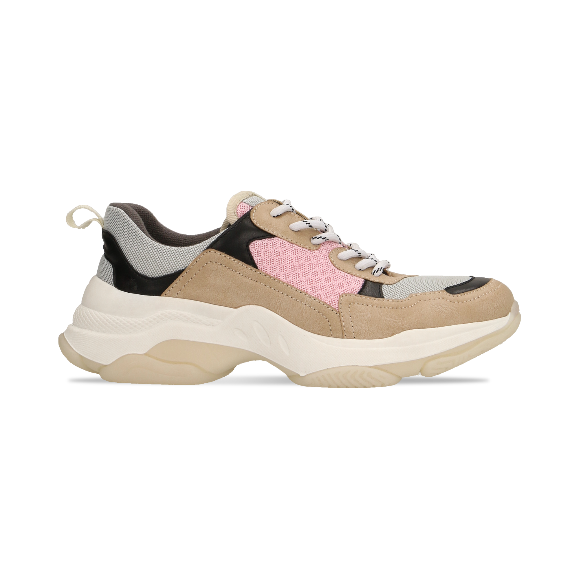 Sneakers beige dad shoes