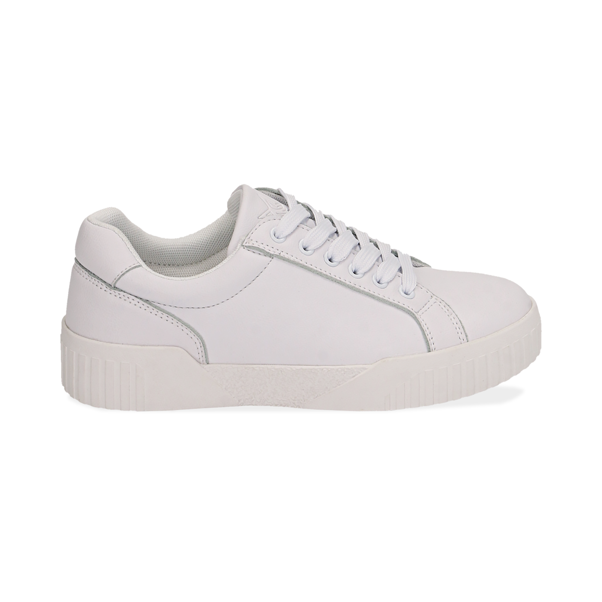 Sneakers en eco-piel color blanco