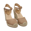WOMEN SHOES ESPADRILLAS MICROFIBER BEIG